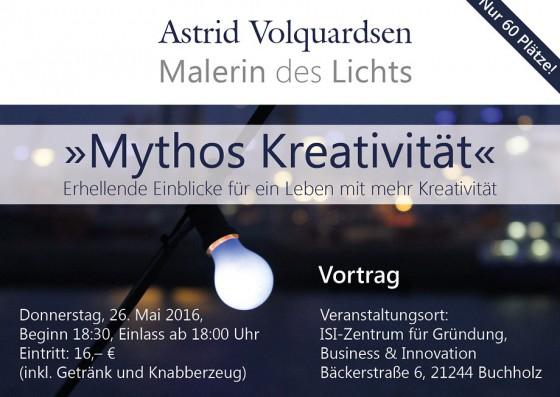 Vortrag: Mythos Kreativität